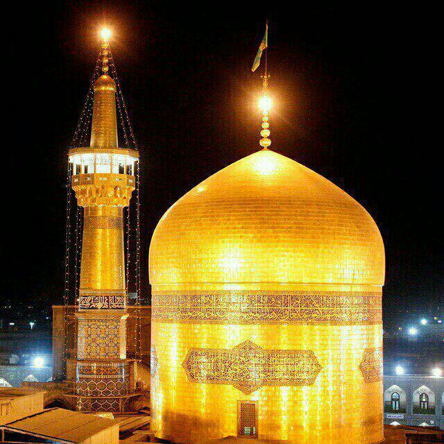 عکس هوایی از مشهد الرضا
