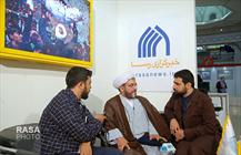 مهمانان غرفه خبرگزاری رسا در سومین روز از بیست و سومین نمایشگاه مطبوعات و خبرگزاری ها