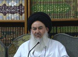موقف آية الله السيد السيستاني موقف الطبیب المعالج لمساعدة العراقيين في اختيارهم لما ينجيهم و يوحدهم