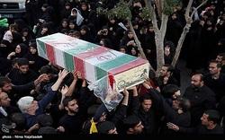 10 شهید دفاع مقدس و مدافع حرم در حرم رضوی تشییع شدند