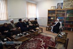 دیدار اعضای شورای عالی انقلاب فرهنگی با مراجع تقلید و علما