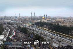 جشن ۴۰ سالگی انقلاب با حضور حماسی مردم در راهپیمایی ۲۲ بهمن