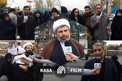 حضور مردم در مصلی تهران در اولین ساعات روز جمعه