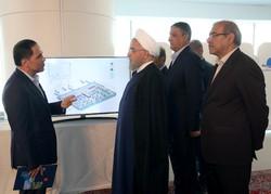 افتتاح ترمینال گالری سلام شهر فرودگاهی امام خمینی