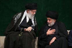 مراسم عزاداری شب شام غریبان حسینی (علیهالسلام) با حضور رهبر انقلاب