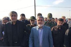 وزیر کشور از مرز بین المللی شلمچه بازدید کرد