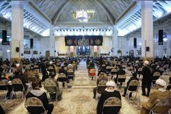 مراسم چهلمین روز درگذشت آیت الله محمدی یزدی