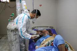 فعالیت جهادی طلاب در بیمارستان های اهواز