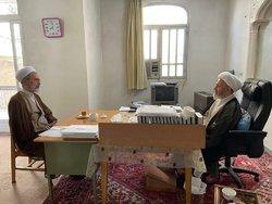 دیدار مدیر حوزههای علمیه با آیت الله سبحانی