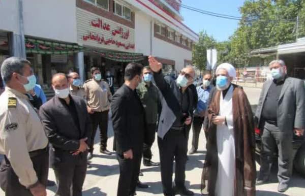 بازدید نماینده ولی فقیه در مازندران از بیمارستان امام خمینی ساری + عکس
