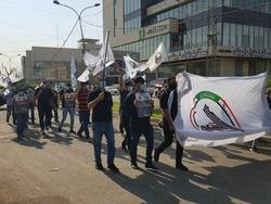 گروه «رَبع الله» مقر حزب دموکرات کردستان را به آتش کشیدند