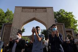 نماز عید سعید فطر در تبریز
