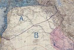 تعیین نقشه خاورمیانه با مداد و خطکش!