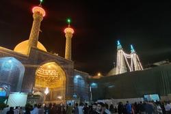 دیشب در حرم و مسجد اعظم شب شهادت بود یا شب عید؟