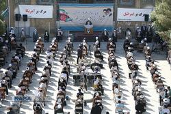 تجمع طلاب و روحانیون در محکومیت کشتار شیعیان افغانستان برگزار شد