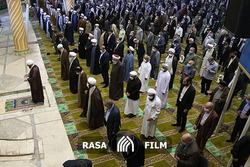 حضور میهمانان  اهل سنت کنفرانس وحدت در نماز جمعه تهران